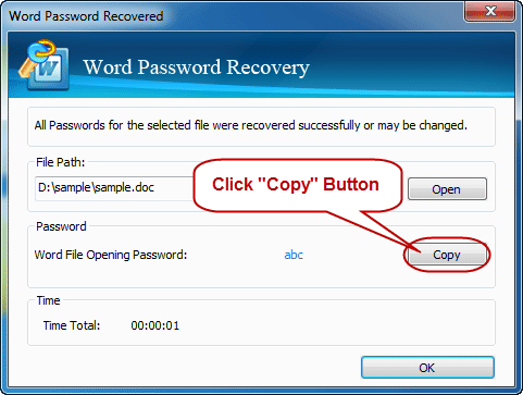 excel password recovery registration key