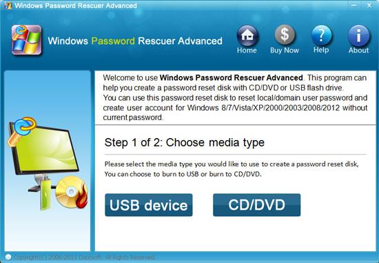 how to reset local user password in windows 7