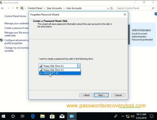 How to Create Windows 10 Password Reset Disk and Reset