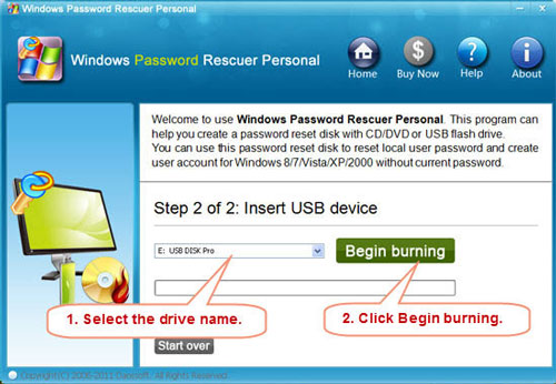 windows 7 professional administrator password recovery